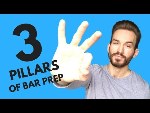 How to Prepare for the Bar Exam: 3 Pillars of Bar Prep - YouTube