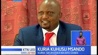 Moses Kuria atishia kumchukulia hatua mtu yeyote atakaye mhusisha na kifo cha Msando