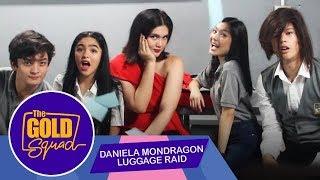 DANIELA MONDRAGON LUGGAGE RAID | Gold Squad Kyle Francine Seth and Andrea