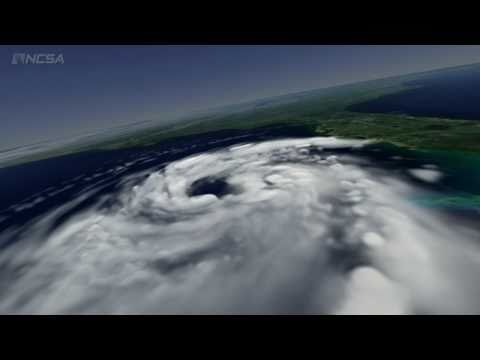Watch This Gorgeous And Terrifying Simulation Of Hurricane Katrina As It Gathers Strength