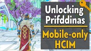 Unlocking Prifddinas as a Mobile-only HCIM - Runescape 3