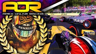 Apex Online Racing F1 2017 Highlights | Round 9 Italy