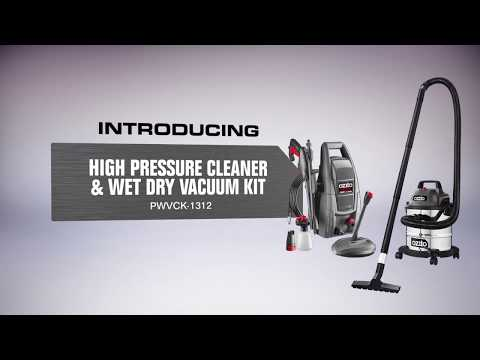 Ozito 2 Piece Cleaning Combo Kit – Product Video