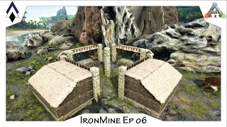 ARK IronMine Ep 06: The Cove Base 2.0 (PVE Modular Base Design)