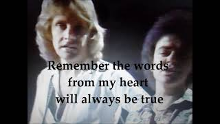 NOW AND FOREVER with Lyrics- AIR SUPPLY (bccalugas)