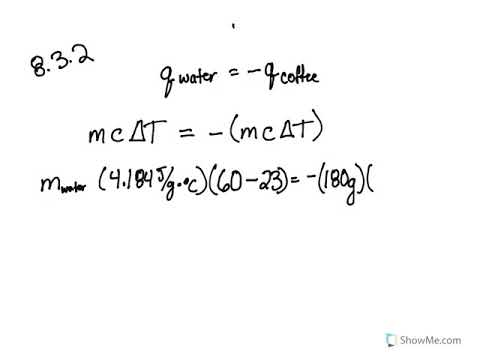 8 2: Calorimetry (Problems) - Chemistry LibreTexts
