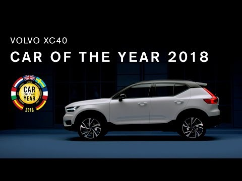 Volvo XC40 é o Carro Internacional do Ano