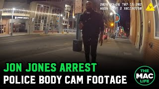 Here is footage from an officer's body camera, released by the Bernalillo County District Attorney's office, of the recent arrest of UFC champion Jon Jones going through a sobriety test before being arrested.   VISIT: http://www.themaclife.com FOLLOW: http://instagram.com/themaclifeofficial FOLLOW: https://twitter.com/Maclifeofficial LIKE: http://facebook.com/themaclife