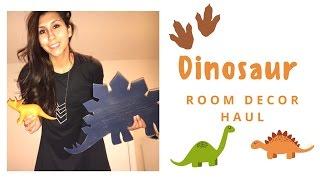 UPDATED DINOSAUR ROOM DECOR HAUL!!! (Big Boy Room)