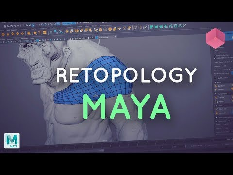 Retopology for Beginners in Maya