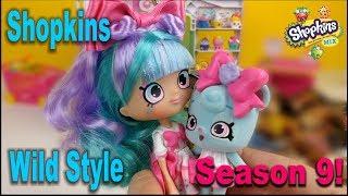 Shopkins Season 9 Wild Style Unboxing! Распаковка+мультик Шопкинс 9 сезона!