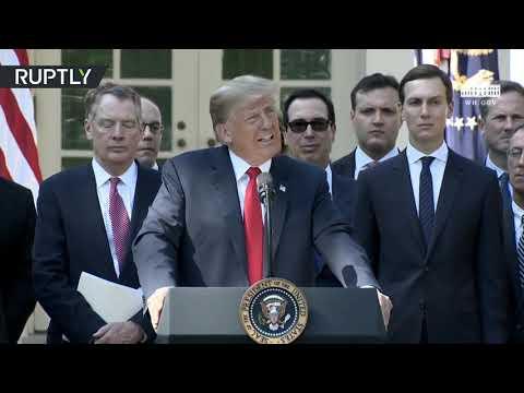 Trump spars with 'loco' media over trade deals & Kavanaugh