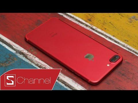 Schannel - Mở hộp iPhone 7 Plus ĐỎ - (PRODUCT)RED™ SPECIAL EDITION đầu tiên tại Việt Nam!!!