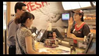 KFC DEAF DAY Ads Man