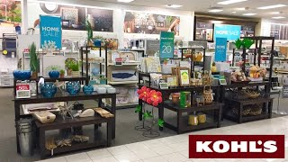 KOHLS HOME DECOR DECORATIVE ACCESSORIES SUMMER SHOP WITH ME SHOPPING STORE WALK THROUGH