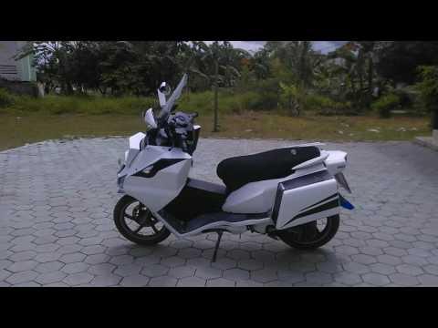 Video Modifikasi Motor Yamaha X-Ride Tangerang.flv