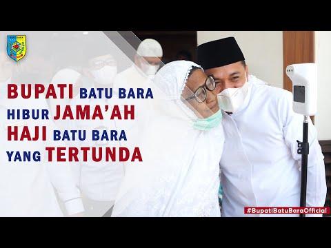 Hibur Jama'ah Haji yang Tertunda, Bupati Batu Bara Ajak Para Jama'ah Zikir bersama jalan jalan