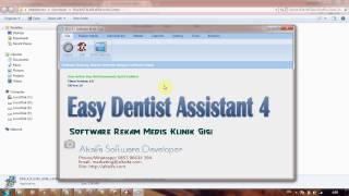 Software Klinik Gigi EDA 4  Cara Download Dan Install