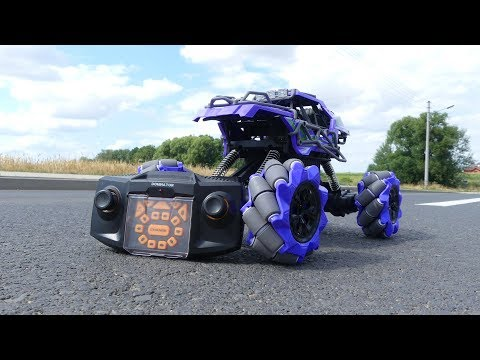 SuLong Toys 3355 Dominator - first toy with Mecanum wheels is incredible !!