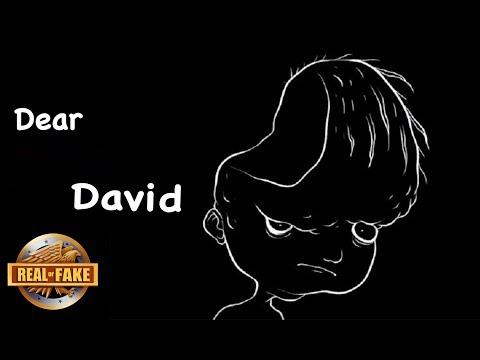 DEAR DAVID - real or fake? (видео)