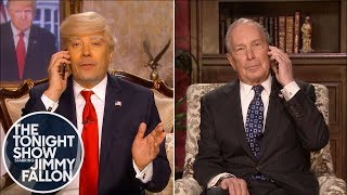 Donald Trump Cold-Calls Michael Bloomberg