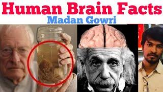 Human Brain Facts | Tamil | Madan Gowri | MG