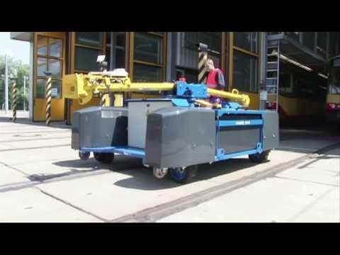 Elektrorangierer ZAGRO E-MAXI: Das Prinzip