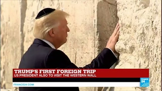 Trump In Israel: US President Visits The Western Wall In Jerusalem