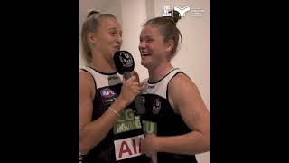 Collingwood AFLW - Behind the scenes with Ruby Scheicher