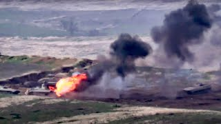 video: Armenia and Azerbaijan step up fighting in fiercest clashes since 1990s