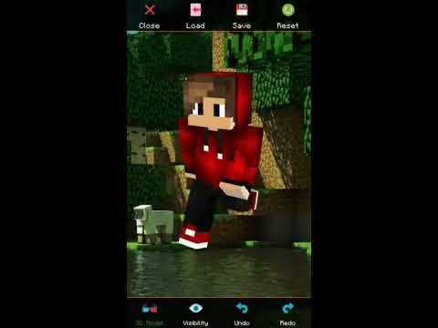 Vídeo do Skin Editor for Minecraft
