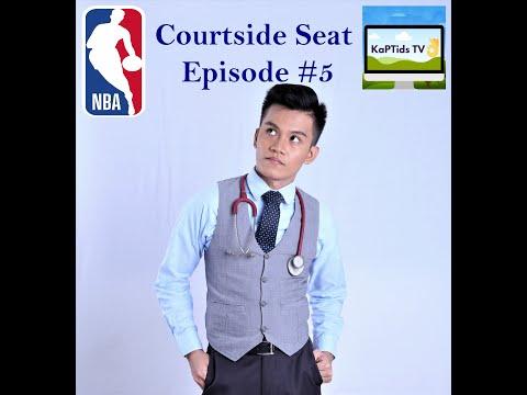 COURTSIDE SEAT EP. 5 | NBA SEEDING GAMES DAY 9-10