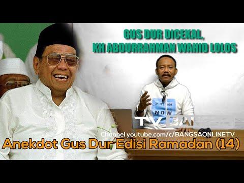 Gus Dur Dicekal, KH Abdurrahman Wahid Lolos