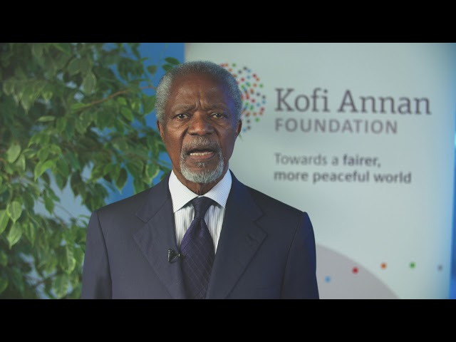 Former UN Secretary General Kofi Annan's remarks at the Coalition for the ICC Open Forum