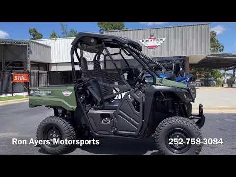 2021 Honda Pioneer 520 in Greenville, North Carolina - Video 1