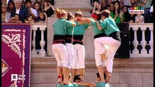 video thumbnail for Castellers - la Merce 2011