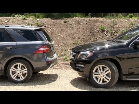 2013 Mercedes-Benz GL self-parking Tech Demo