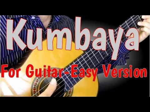 Kumbaya For Guitar Learn To Play Guitar With This Super Easy Song - Chords, Strum & Lyrics