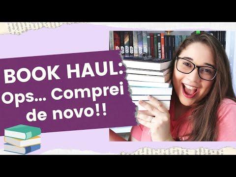 BOOK HAUL: Ops... Comprei livros de novo! ?? | Biblioteca da Rô