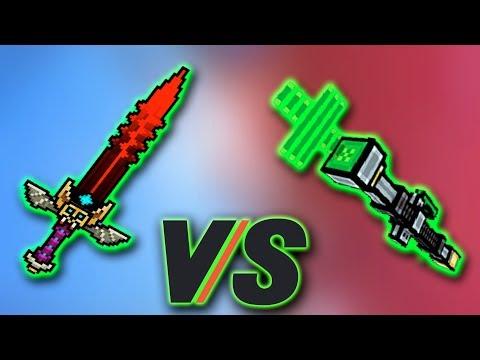 Healing Staff [VS] Sword of silence - Pixel Gun 3D