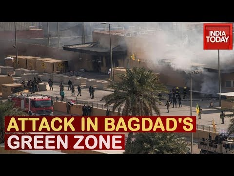 U.S-Iran Showdown: Iran Attacks Green Zone In Baghdad, Trump Pitches For Peace Later