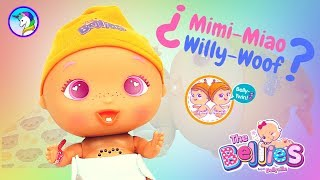 ADOPTAMOS Un BELLY-TWIN De Los BELLIES BABIES ¿Será WILLY-WOOF O MIMI-MIAO?