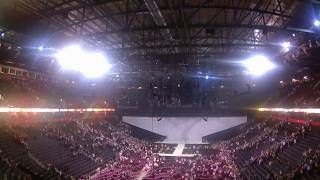 Moments inside Manchester Arena right after the explosion on Ariana Grande's concert