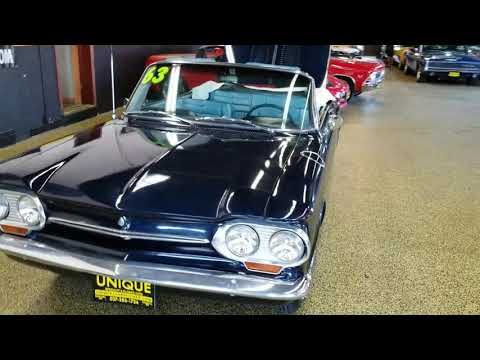 Video of '63 Corvair Monza Spyder Convertible - LTPZ