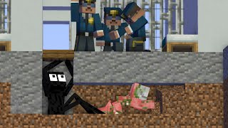 Monster School: PRISON ESCAPE 2 - Minecraft Animation