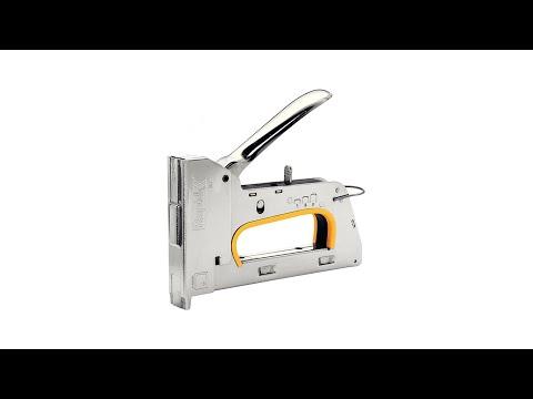 Capsator tacker Rapid PRO R30E nas lung, ajustare forta capsare in 3 trepte, capse 13/4-8 mm, 5 ani garantie, 5 ani garantie, fabricat in Suedia 20510850