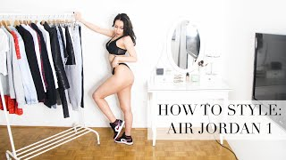 10 CASUAL OUTFITS STYLING AIR JORDAN 1 | HOW TO STYLE & UNBOXING