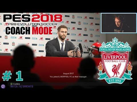 #1 Liverpool FC - Premiership?! - PES 2018 - Master League (LFC)