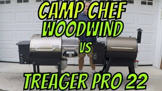 Camp Chef Woodwind v/s Treager Pro 22 Comparison & Review