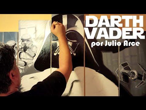 Darth Vader por Julio Arce